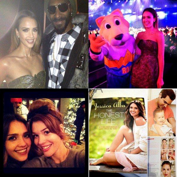 "Samedi 9 Février 2013 : Jessica s'est rendue au "" Hall Of Game Awards """