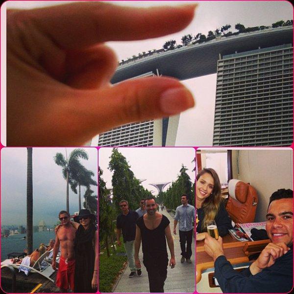 Jeudi 30 Mai 2013 : Jessica s'arretznt à Starbucks dans Santa Monica