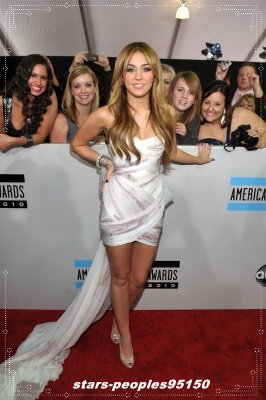 American Award music Miley Cyrus