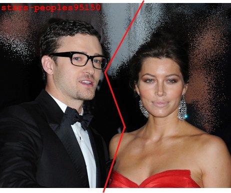 Fini -> Justin Timberlake et Jessica Biel