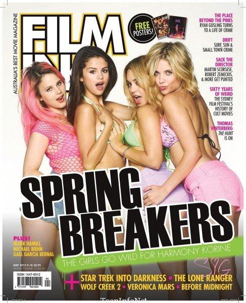 Spring Breakers fait la couverture de FilmInk Magazine pour le moi de mai.