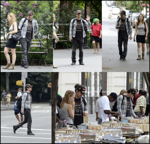 19.08.12 : Out & about at Washington Square Park
