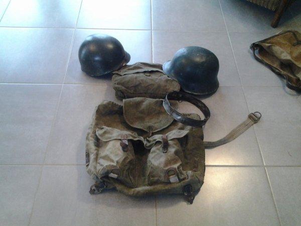 grosse rentrée : militaria allemand et us ww2