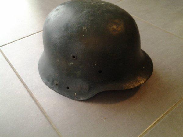 Détail de mon casque allemand mle 42
