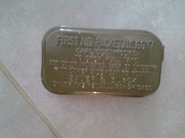 Nouvelle rentrée : First aid US ww2 !
