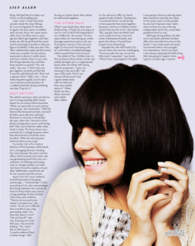 Lily in stylist Mag' 20th October 2010