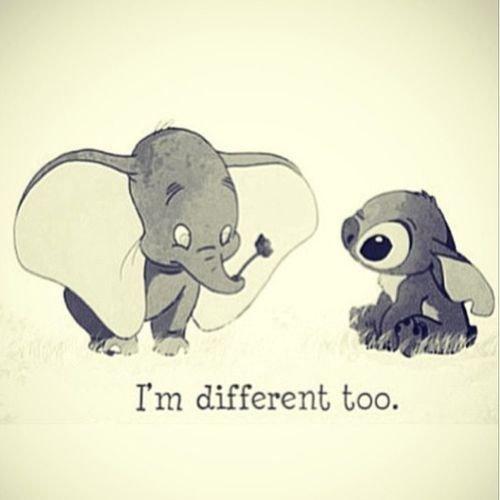 Tous différents <3