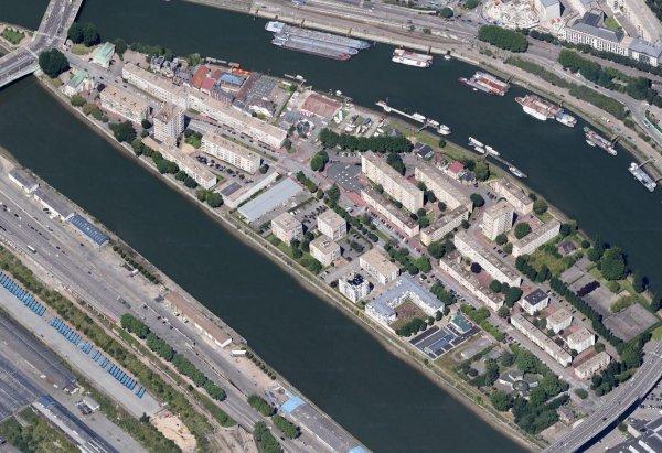 Rouen centre - Île Lacroix
