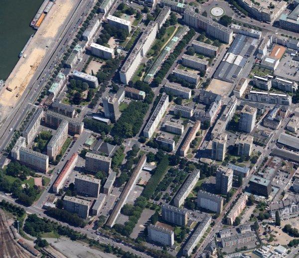 Rouen rive gauche - Boulevard d'Orléans