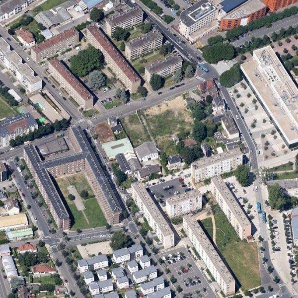 Rouen rive gauche - La Sablière (cité Grammont)