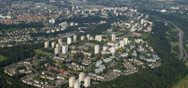 Rouen rive droite - la Grand' Mare (Plateau Est / Hauts-de-Rouen)