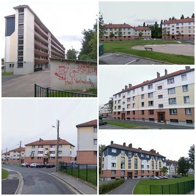 Saint-Etienne-du-Rouvray - Cité Paul Verlaine