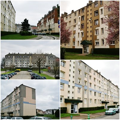 Petit-Quevilly - Quartier Sud/Bruyères (Pergaud)