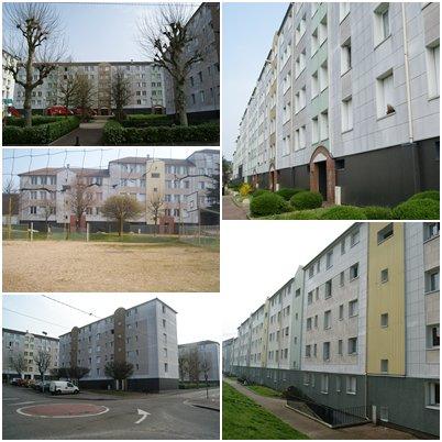 Petit-Quevilly - Quartier Sud/Bruyères (Foliot)