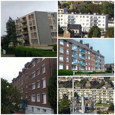 Petit-Quevilly - Quartier Sud/Bruyères (Langevin)
