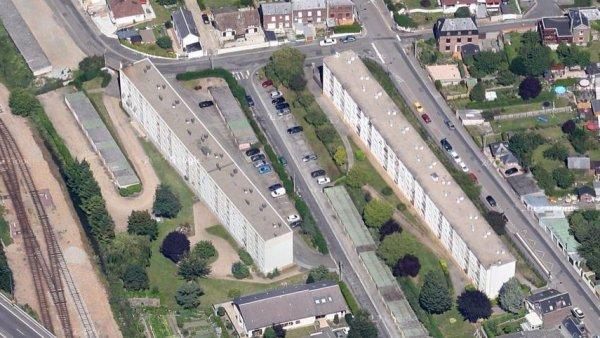 Rouen rive droite - Rue du Loup