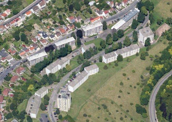 Rouen rive droite - Vallon Suisse / Grieu (rue Helot)