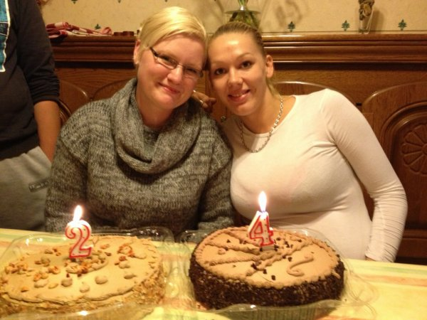 mon anniversaire et celui de ma belle souer ds le nord