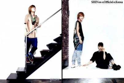 """- Key & Taemin pour """" Elle Girl """""""