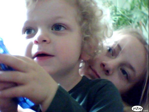 Mon cousin hugo et moi