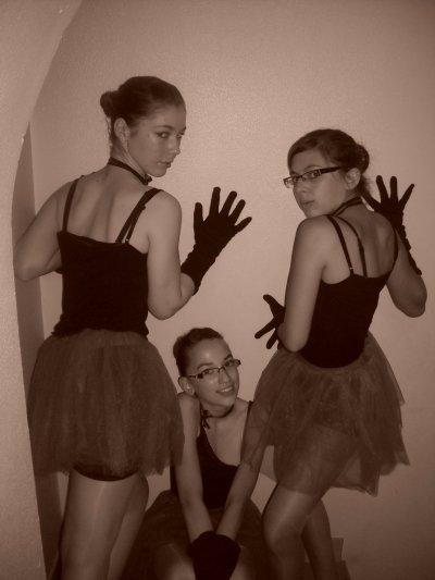 Marina , Amélie et Coralie (moi)