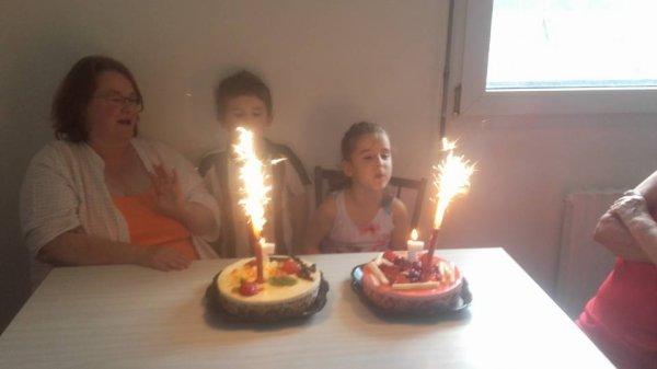 anniversaire de mes jumeaux 7 ans