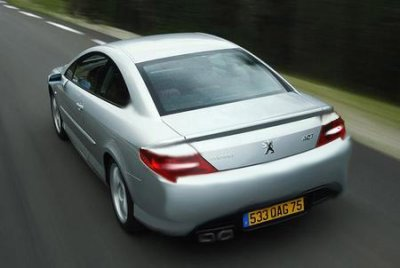 Old Photoshop Disaster: Peugeot 407 Coupe Restyling
