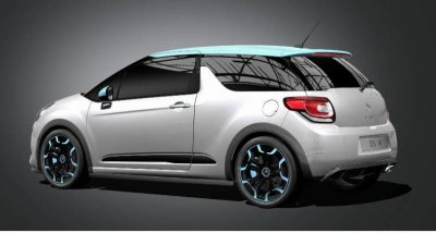 Old Photoshop: DS 3 Roadster (Before/Next)