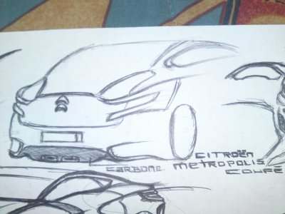 Old Drawings: Metropolis Coupe