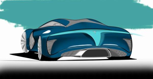 Tesla E-Coupe