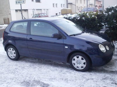 ma nouvelle voiture polo 9n