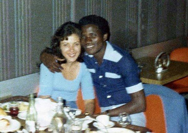 papa en 1977
