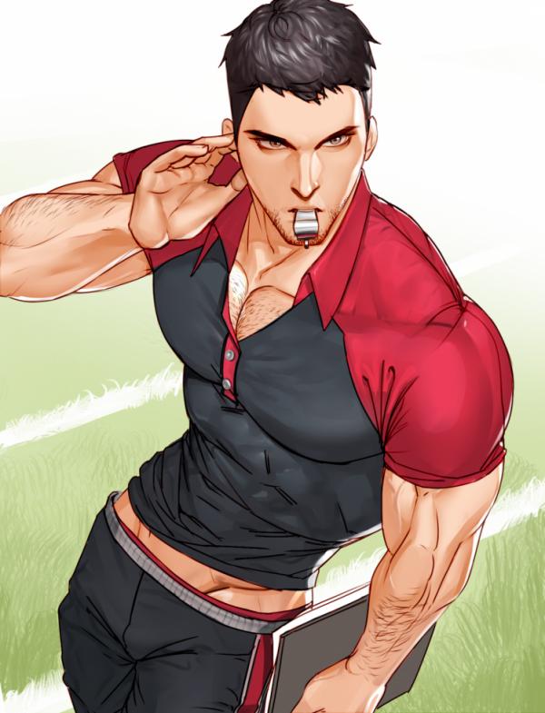 Mon futur prof de sport et ses potes dans le blog secret vous souhaitent une très bonne semaine d'été, les mecs ! <3