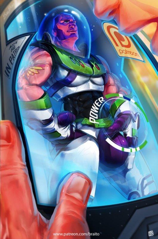 Essayez le nouveau Buzz l'Eclair, touchez-le ! <3