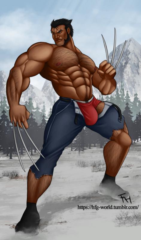 Une nouvelle version de Wolverine plutôt sympa ! <3