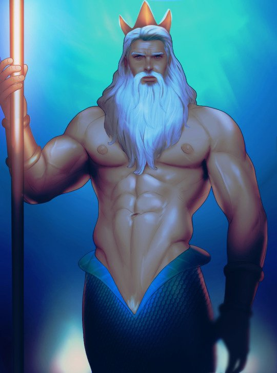 Version sexy de Triton, le Roi des Mers. <3