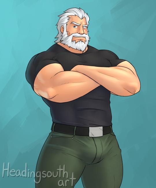 Mon beau-grand-père. <3