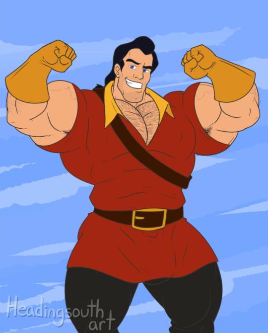 Y'a pas plus fort que Gaston... <3