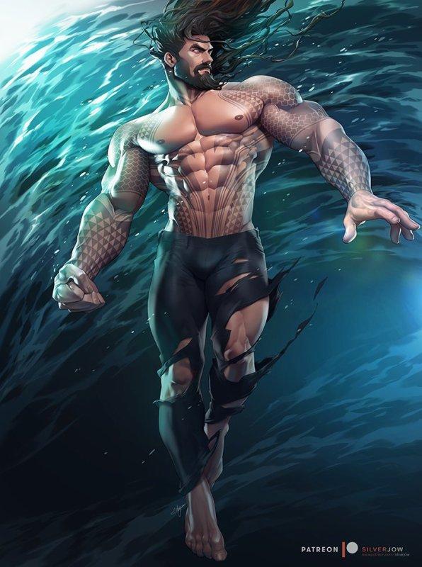 Nouvelle affiche de Aquaman ! <3