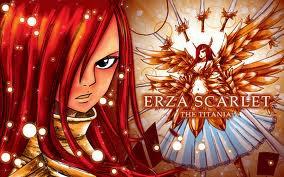 Fairy tail Erza (avec jellal)