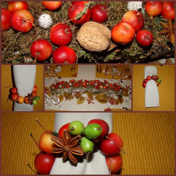 une table d automne