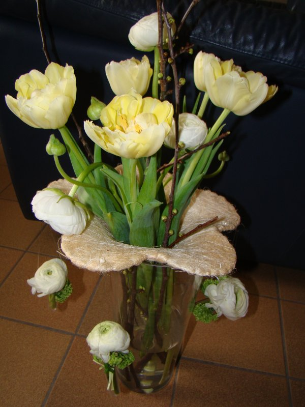 manege en fleurs