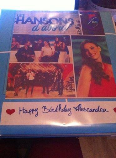 Alexandra à reçu son cadeau d'anniversaire ;)