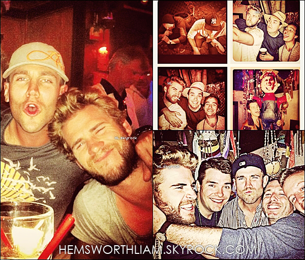 .30/03/13 - Liam a été vu se rendant dans un dépot stock avec quelques amis.  .*
