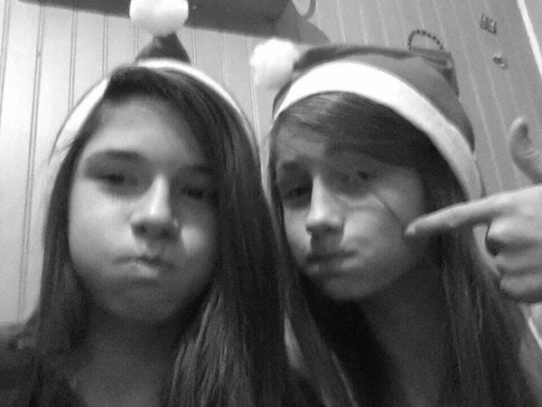 Avec la soeur :)
