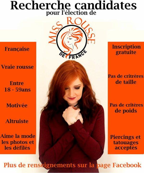 Miss Rousse de France