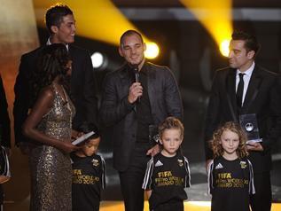 Sneijder, Ballon d'Or vieille école
