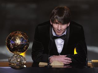 Messi encore en Or