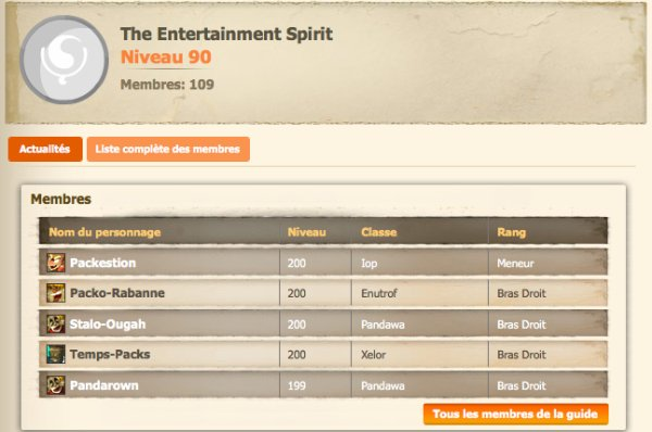 The Entertainment Spirit, guilde la plus hl de sumens !