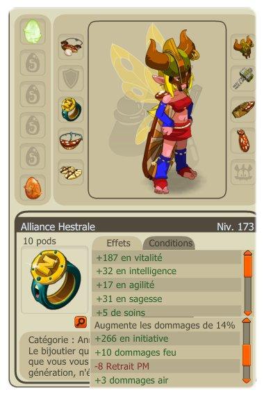Stuff Eni lvl 199 : Alliance Hestral